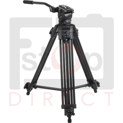 Fancier FC270A DV Pro Video Camera Tripod with Fluid Head + Extra Strength Legs Enlarged Preview